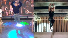 Watch 8-year-old 'Dirty Dancing' kid have the time of his life