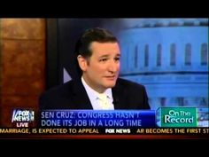 ▶ Sen. Ted Cruz with Greta Van Susteren on the Senate Vote and What Comes Next to Defund Obamacare - YouTube