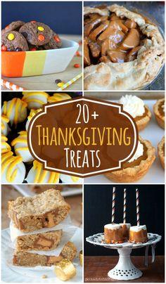 20+ Treats Perfect For Thanksgiving!! { lilluna.com }