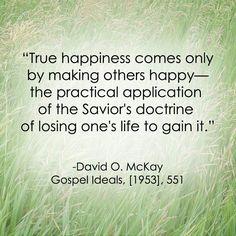 mormon, true happi, lds service quotes, lds quotes on service, faith, service quotes lds, inspir, happiness, live