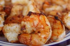 Spicy Garlic Shrimp // A great entree for a healthy meal!