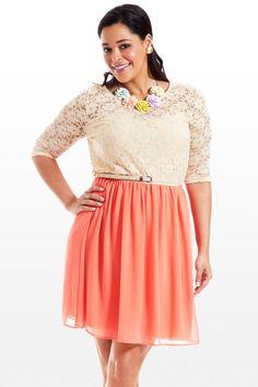 Floret Lace Dress