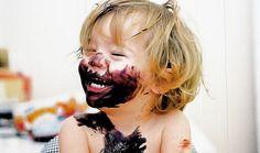 pure messy kid joy.