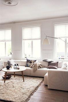 neutrals. Living room.