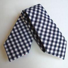 Gingham Tie for Mr. C w/ his khaki suit