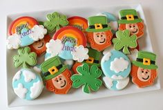 st patrick's day cookies