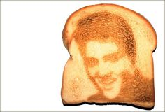 I could wake up to Elvis toast!