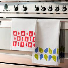 make your own colorful tea towel