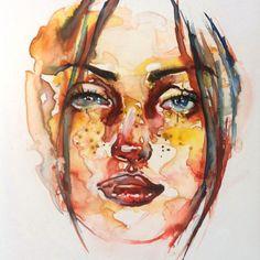 watercolor on Yupo...