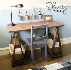 Love this DIY desk!