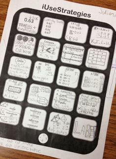 FREE iPad testing strategy reveiw template!! Fun way to review strategies in your classroom!