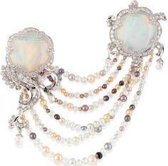 Van Cleef  Arpels - Meduse Lune clip - High Jewelry Collection, Les Voyages Extraordinaires