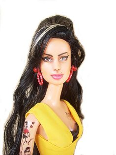 Amy Winehouse doll