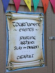 Jousting Poster