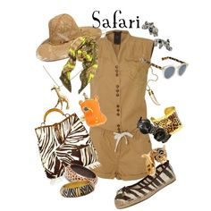 Safari, created by marybethschultz on Polyvore
