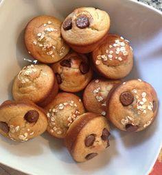 the.well.traveled.wife: oatmeal banana breakfast muffins