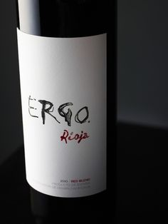 Before & After: Ergo Rioja #taninotanino #vinosmaximum #wine