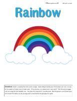 Rainbow theme ideas and printables