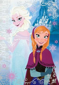 Frozen's Elsa and Anna
