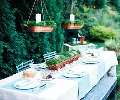 Woodland Chic: Simple Table
