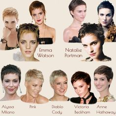 ◄Rock My Heels►: Inspiration - pixie hair, extremely short