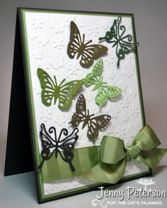 My Little Stampin' Spot: {TCPTUES216} Flutterby