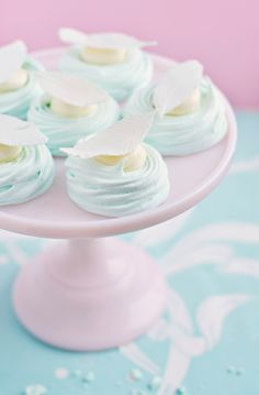 Pastel Meringue Nests by Sweetapolita