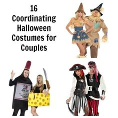 16 Coordinating #Halloween #Costumes for Couples