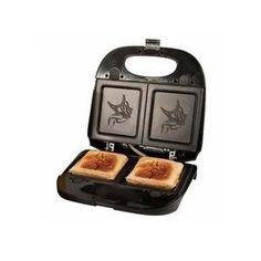 Minnesota Vikings Sandwich Press / Waffle Maker