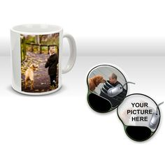 Gel Mousepad and Photo Mugs