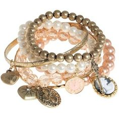 bracelet set, fashion, style, accessori, pearl bracelets