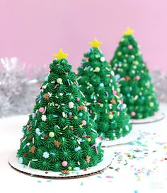 How To Make Mini Christmas Tree Cakes