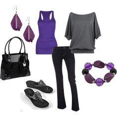 Shades of Purple, created by vidah