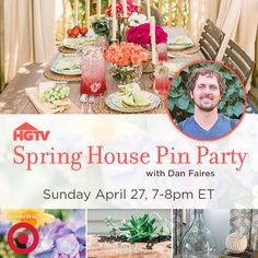 Join Us on Pinterest This Sunday (http://blog.hgtv.com/design/2014/04/24/join-us-on-pinterest-this-sunday/?soc=pinterest)