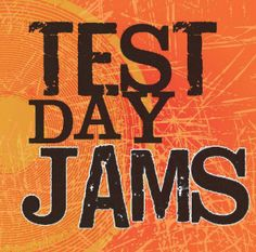 Test Day CD of songs can be purchased to motivate students for their state tests.