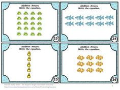 Rectangular arrays worksheets 2nd grade
