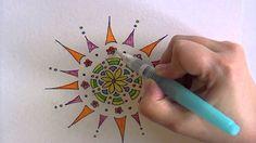 How to create doodle mandalas (video tutorial)