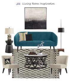 Living Room Inspiration | Designs By Katy @westelm @target