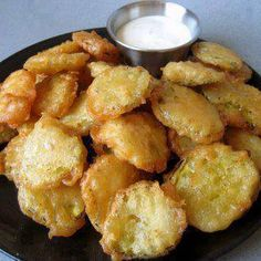 Fried Dill Pickle Chips