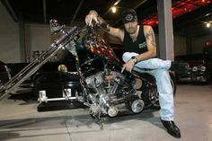 Danny Koker aka The Count of Count Kustoms in Las Vegas
