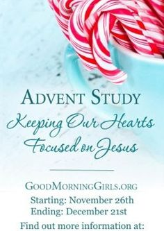 Free eBook: Advent Study- Keeping Our Hearts Focused on Jesus