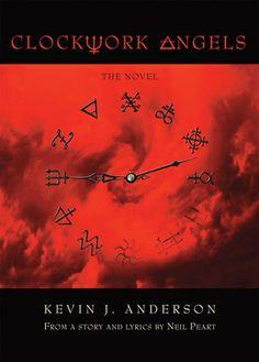 clockwork seri, bookshelf, anderson, clockwork angels, book choic, novels, drummers, rocks, kevin