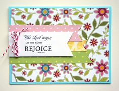 Handmade Easter Card by HandyScraps