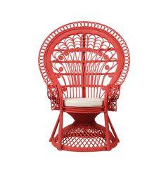 Peacock Rattan Chair - Kids