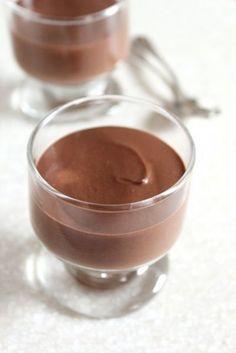 Chocolate Almond Cheesecake Pudding
