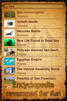 Geo Walk (for iPhone / iPad) is an interactive globe model with handpicked articles on various topics (Animals and Plants, History, People and Inventions), which are placed on the Earth with respect to their location with pictures and short descriptions making most wonderful things of the world easy and fun to discover.