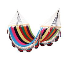 Multicolour Hammock Great for patio by veronicacolindres on Etsy