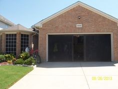 Add a garage door screen from Cool Screen from Cool Screens Texas and add some value to your house and start Living the Lifestyle. coolscreenstexas@hotmail.com
