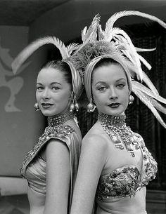Riviera Chorus Girls 1952
