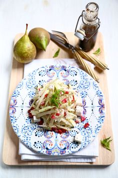 Pear and fennel salad with pomegranate seeds from Country Life ...